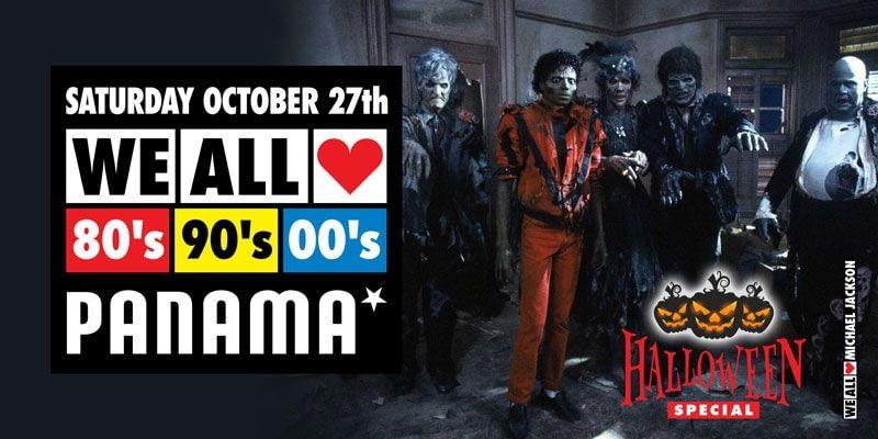 WE ALL LOVE 80's 90's 00's - HALLOWEEN