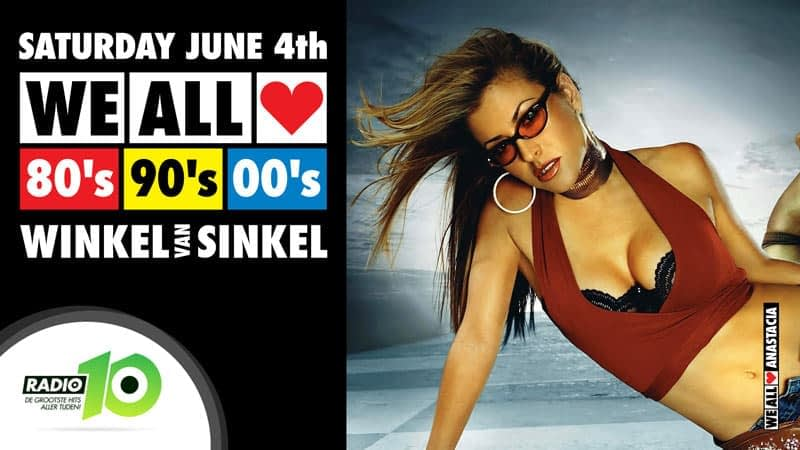 WE ALL LOVE 80's 90's 00's - Winkel van Sinkel Utrecht