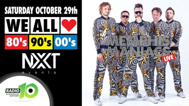 WE ALL LOVE 80's 90's 00's - NXT Events - Gemert