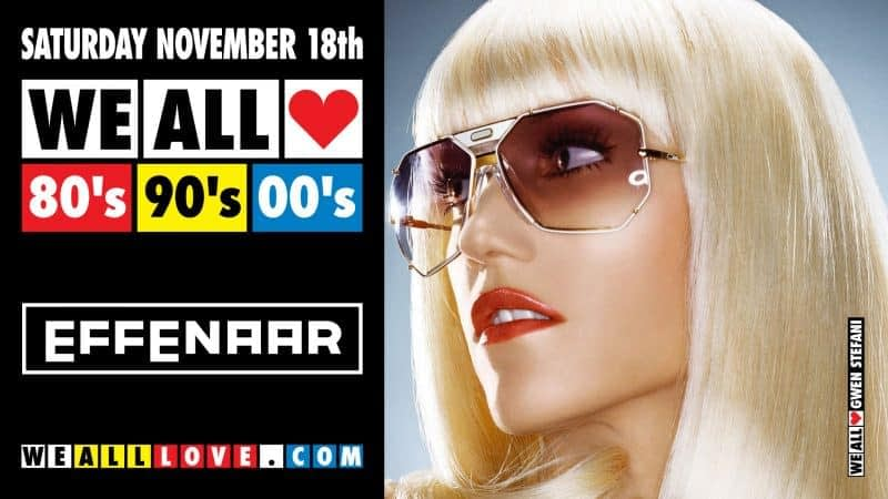 WE ALL LOVE 80's 90's 00's
