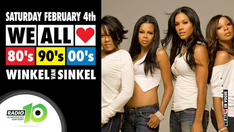 WE ALL LOVE 80's 90's 00's - Winkel van Sinkel Utrecht